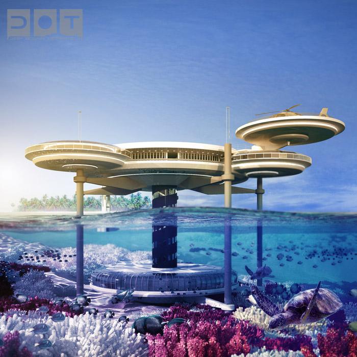 Worlds Top 7 Underwater Hotels
